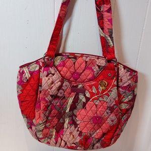 Vera Bradley Glenna Shoulder Bag Bohemian Blooms